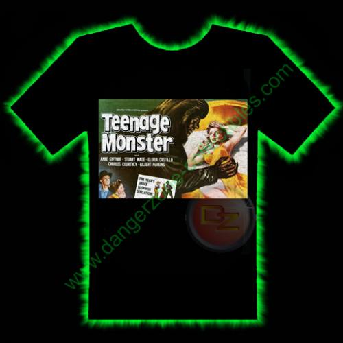 Teenage Monster Horror T-Shirt by Fright Rags - SMALL