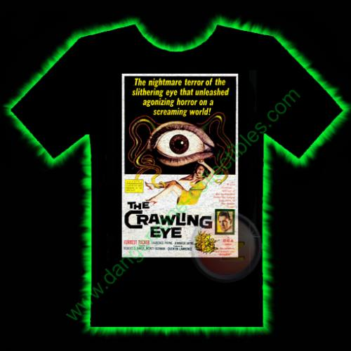 The Crawling Eye Horror T-Shirt by Fright Rags - SMALL