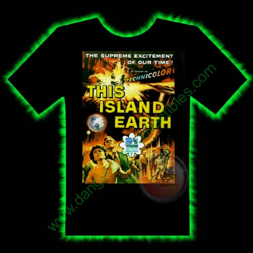 This Island Earth Horror T-Shirt by Fright Rags - SMALL