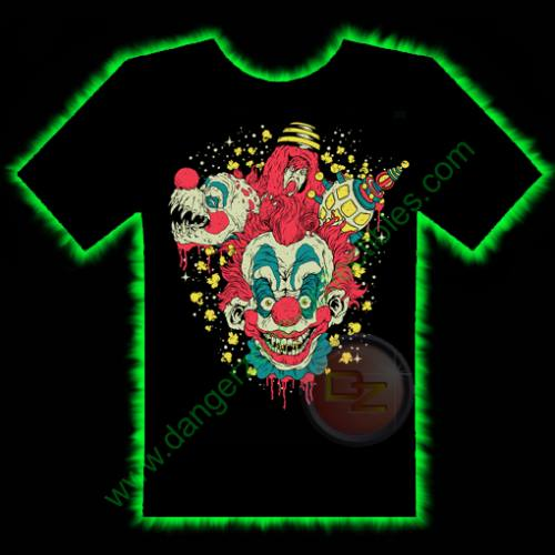 Killer Klowns Horror T-Shirt by Fright Rags - SMALL