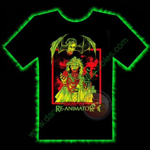 Bride Of Re-Animator Horror T-Shirt by Fright Rags - MEDIUM