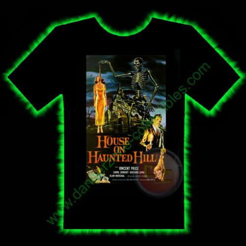 House On Haunted Hill Horror T-Shirt by Fright Rags - MEDIUM