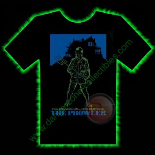 The Prowler Horror T-Shirt by Fright Rags - LARGE