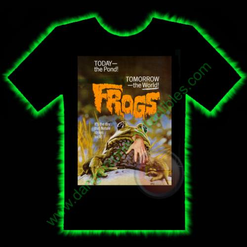 Frogs Horror T-Shirt by Fright Rags - LARGE