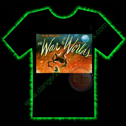 War Of The Worlds Horror T-Shirt by Fright Rags - LARGE