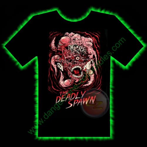 The Deadly Spawn Horror T-Shirt by Fright Rags - LARGE