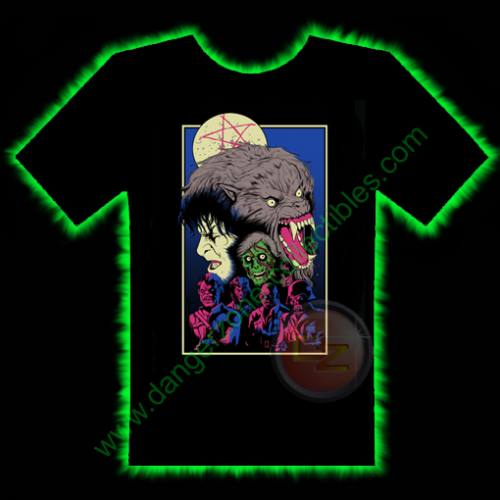 36cf6b4ae29 American Werewolf In London Horror T-Shirt by Fright Rags - SMALL ...