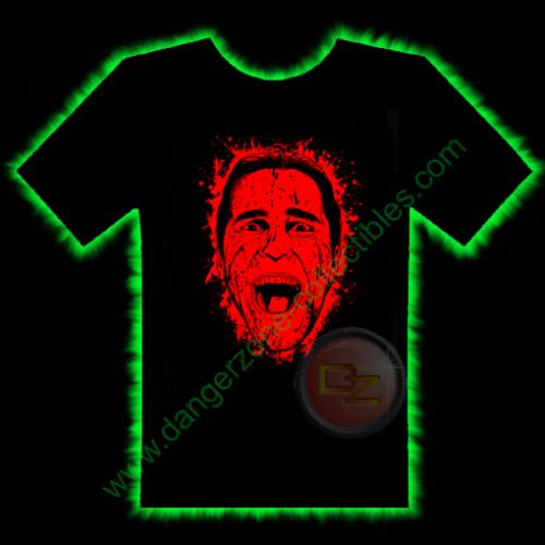 American Psycho Horror T-Shirt by Fright Rags - MEDIUM