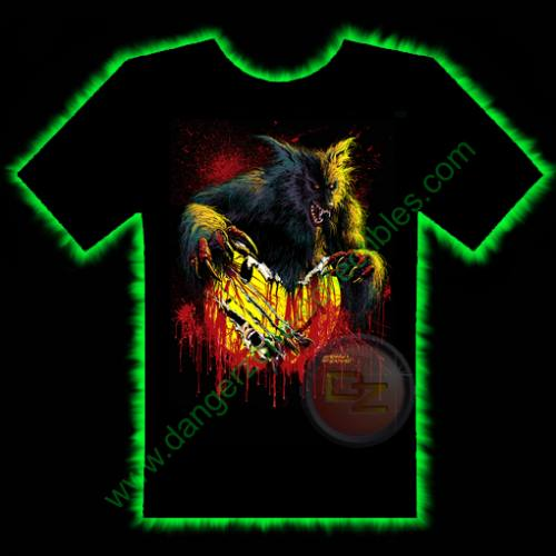 The Howling T-Shirt by Fright Rags - SMALL