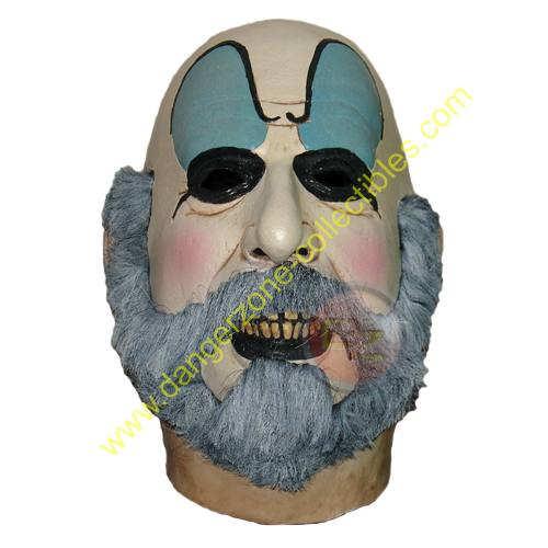 The Devils Rejects Captain Spaulding Full Overhead Adult Latex Mask