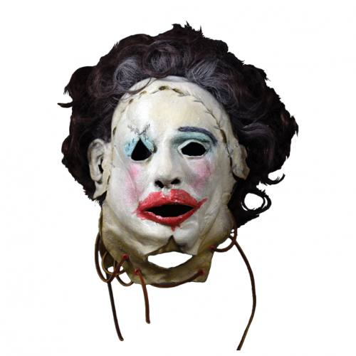 Texas Chainsaw Massacre Leatherface 1974 Pretty Woman Full Overhead Mask by Trick Or Treat Studios