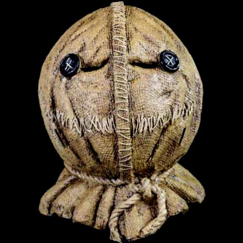 Trick r Treat - Sam (Burlap Style) Full Overhead Mask by Trick Or Treat Studios