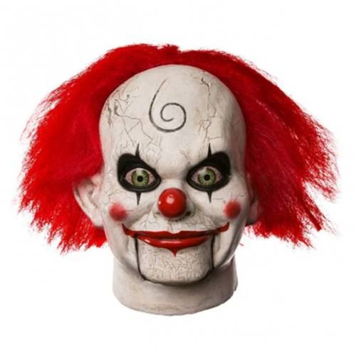 Dead Silence Mary Shaw Clown Full Overhead Mask by Trick Or Treat Studios