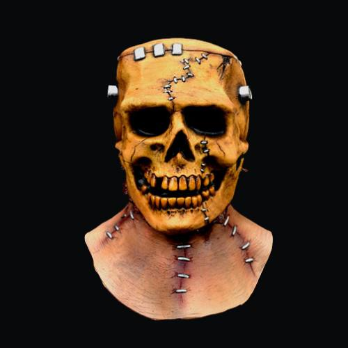 Frankenskull Full Overhead Mask by Trick Or Treat Studios