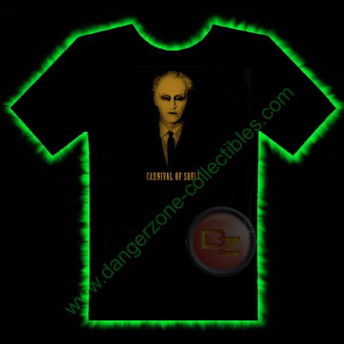 Carnival Of Souls Horror T-Shirt by Fright Rags - SMALL
