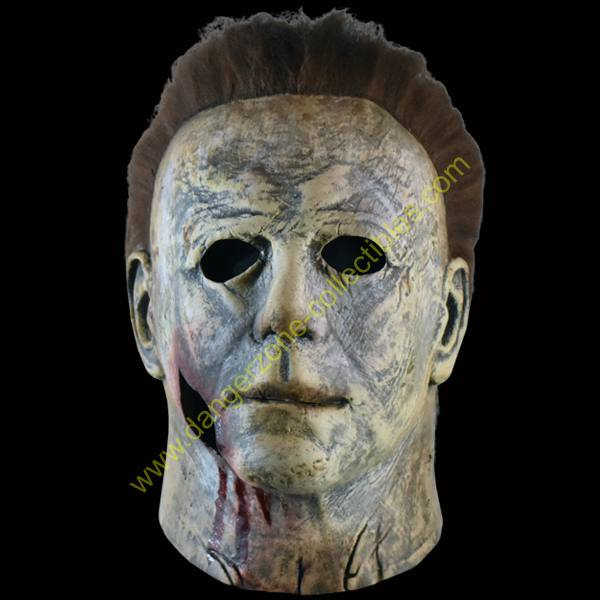Halloween 2018 Michael Myers Mask.Halloween 2018 Michael Myers Bloody Edition Full Overhead Mask By Trick Or Treat Studios